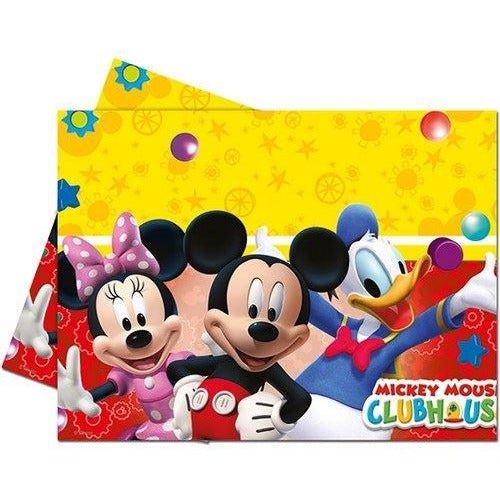 PARTY TABLE COVER 1CT,  PLAYFUL MICKEY