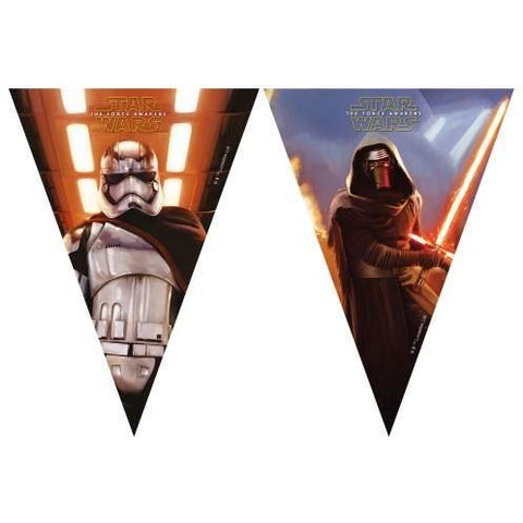 BANNER - TRIANGLE FLAG (9),  STAR WARS THE FORCE AWAKENS