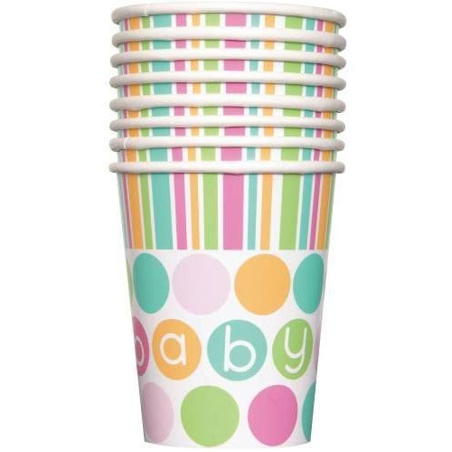 Polka Dot Baby shower Cups