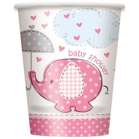 umbrellaphants pink cups