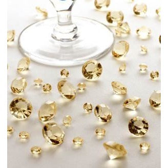 Table Crystals - Gold