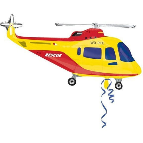 Rescue Helicopter Street Treat