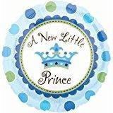 "18"" Round A New Little Prince Polka Dot Balloon"