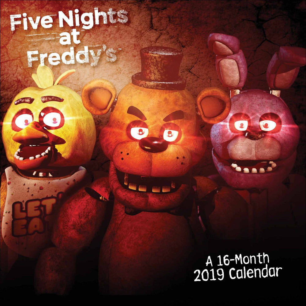 2019 Official Calendar Square Five Nights At Freddys