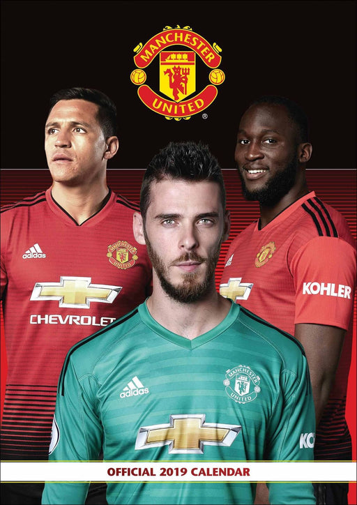 2019 Official Calendar A3 Manchester United