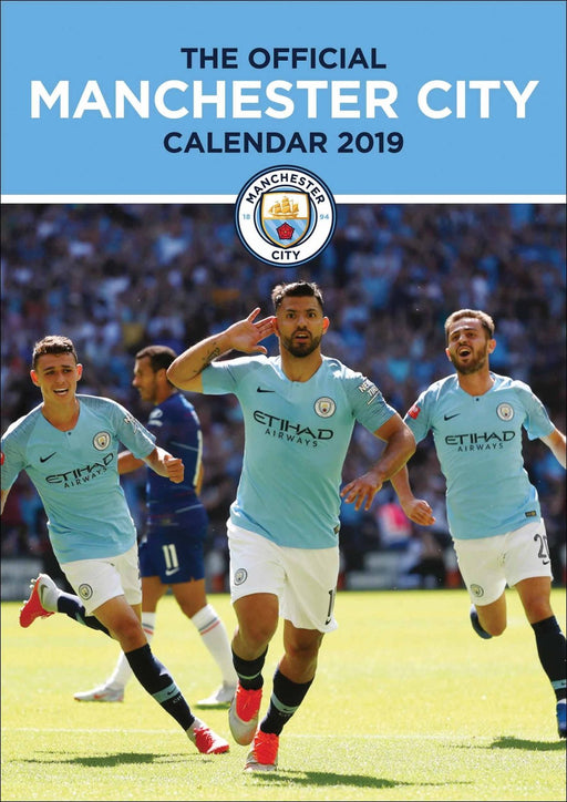 2019 Official Calendar A3 Manchester City
