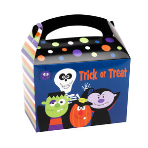 Trick Or Treat Lunch Boxes (halloween)