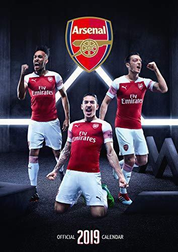2019 Official Calendar A3 Arsenal