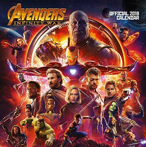 2019 Official Calendar Square Avengers Infinity War