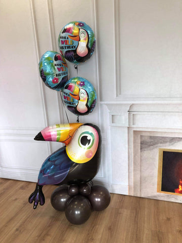 Inflated Toucan Balloon Display (Collection Only)