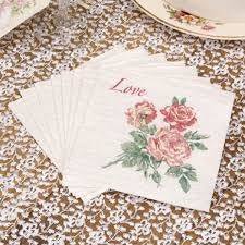 With Love - Cocktail Napkins