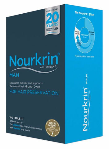 Nourkrin Man (3 month / 180 tablets)
