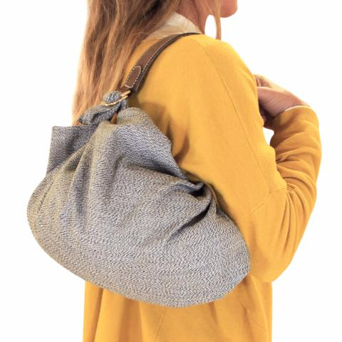 Furoshiki bag S. Grey. Limited edition