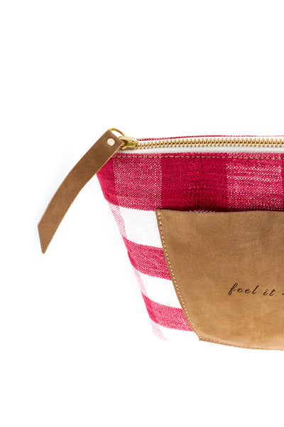 Little Bag Vichy. LINEN EDITION