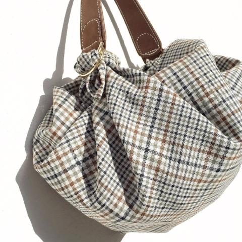 Furoshiki bag S. British