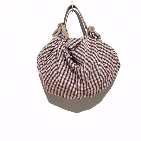 Furoshiki bag M. Autumn. Reversible