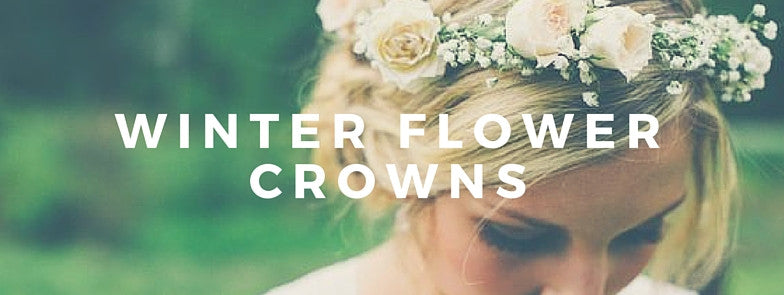 Winter flower crowns with flavor.