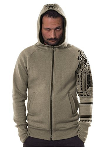 cool men hoodie tribal