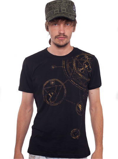Plazmalab Psychedelic T-Shirt Magic Circle