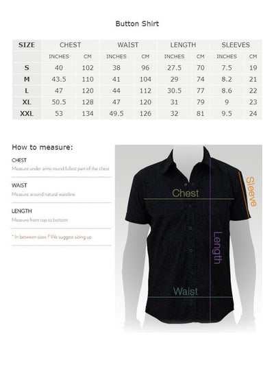 Casual Short Sleeve Psy Shirt