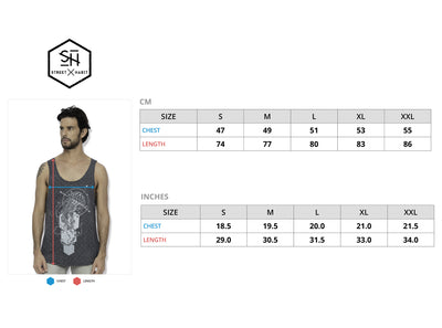 Jellyfish Full Print Graphic Tank Top