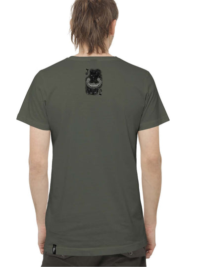 grey music festival t-shirt men