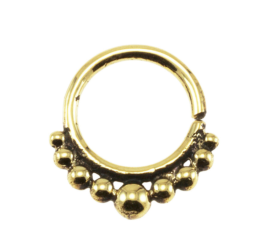 Brass Tribal Beads Design 18G