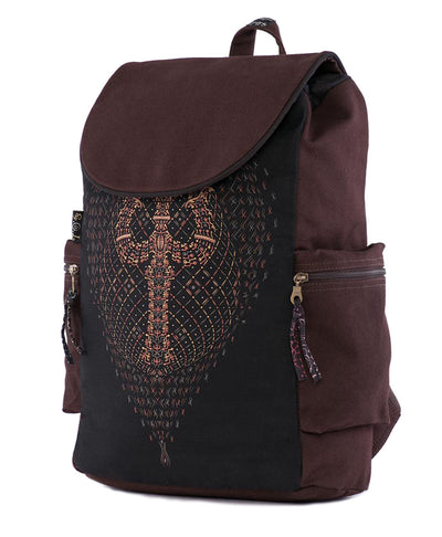 Trishula Psychedelic Laptop Backpack