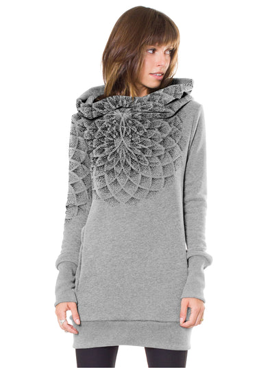 hooded dress women