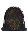 Aztec Mask Graphic Print Daypack