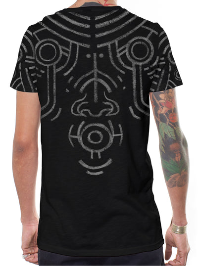 War Paint Aztec Tribal  T-Shirt