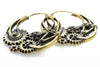 Gear Brass Steampunk Earrings