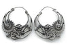 Gear Silver Steampunk Earrings