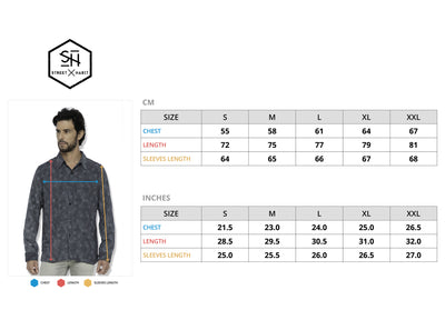 Casual Shirt Allover Greyscale Abstract Hexagon Dot Pattern