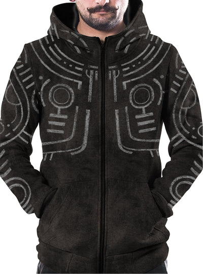 War Paint  All Over Aztec Hoodie
