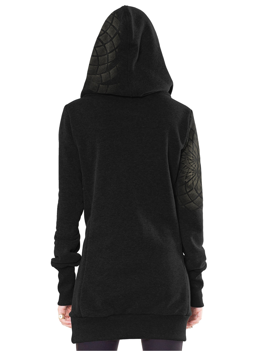 Hoodie Dress black women