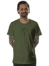 green tee shirt men