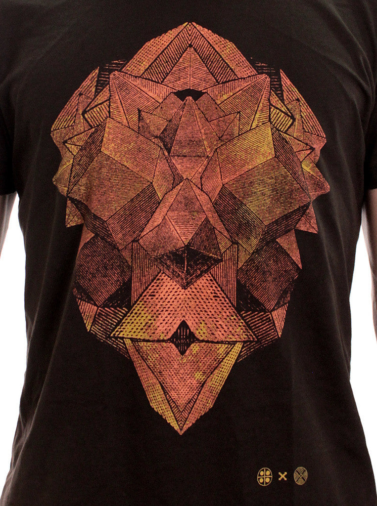 Geometric Tetra Head T-shirt