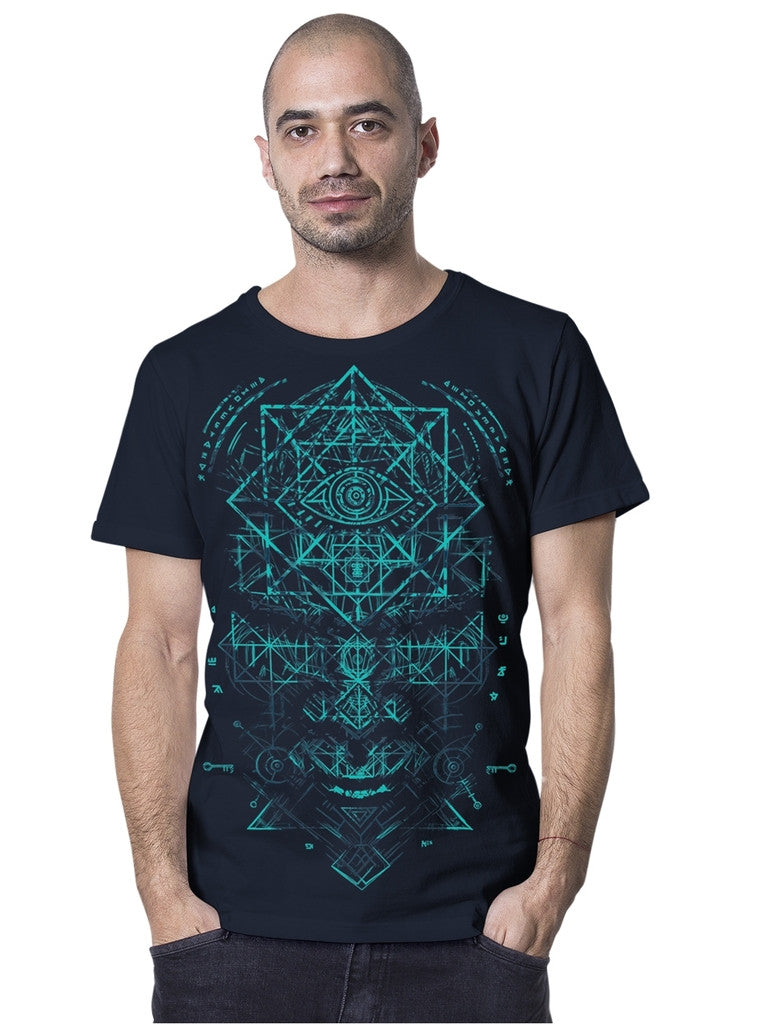 Plazmalab True Illuminati Geometric T-shirt