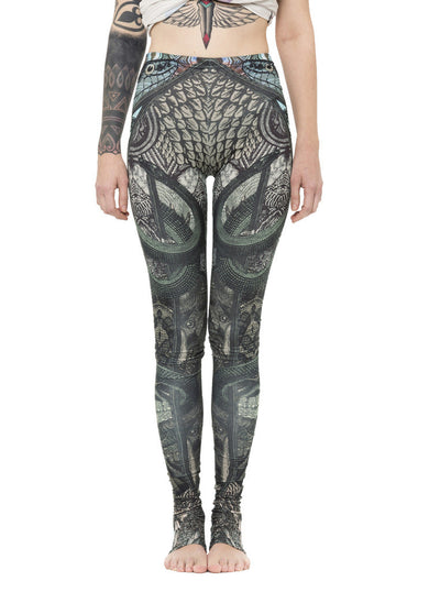 Plazmalab Tribal Print Stirrups Leggings