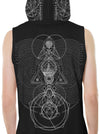 Illuminati Sleeveless Hoodie Tank Top