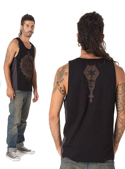 Mexica Psy Mandala Tank Top