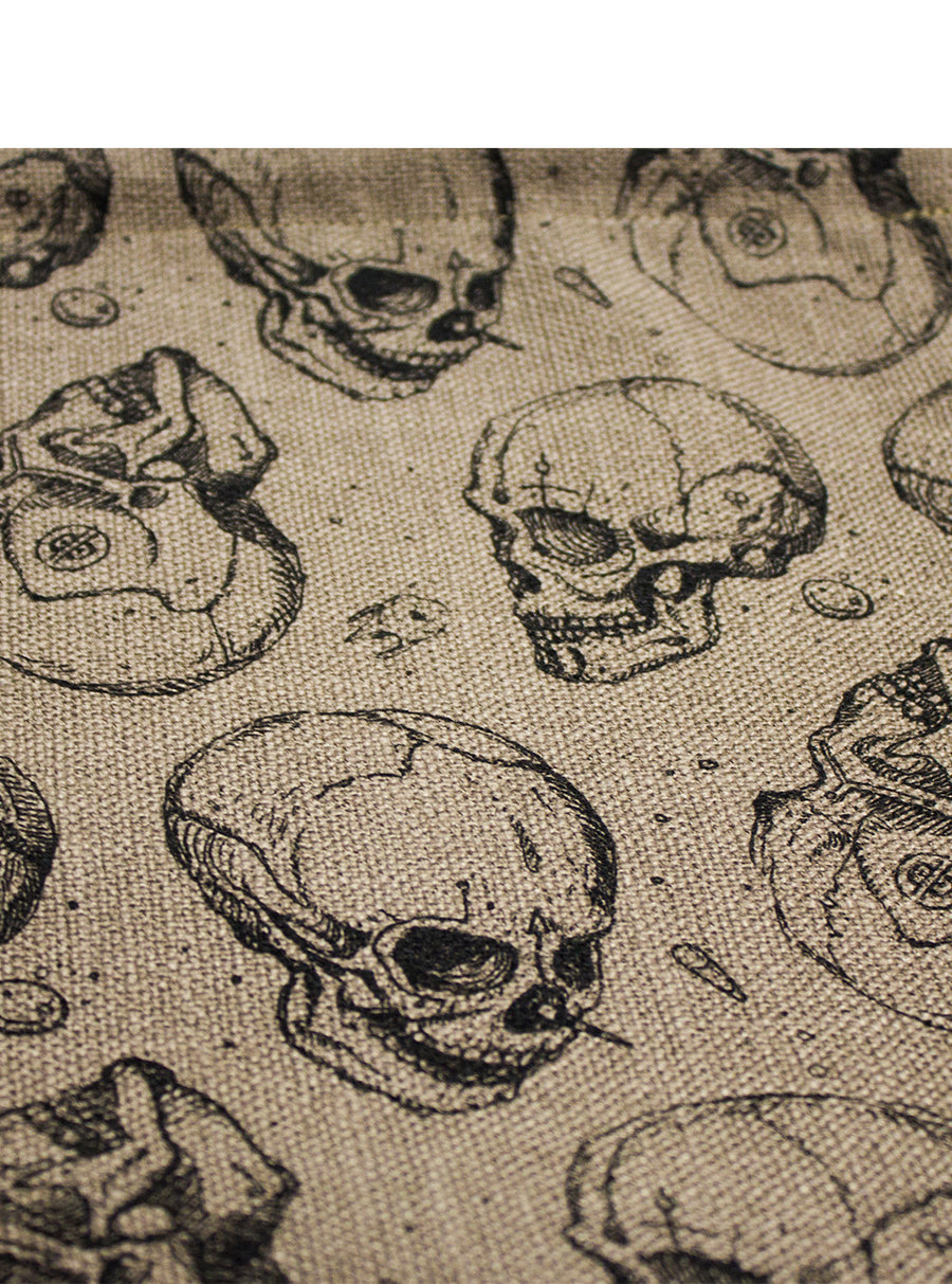 Skulls and Pills Canvas Sack bag