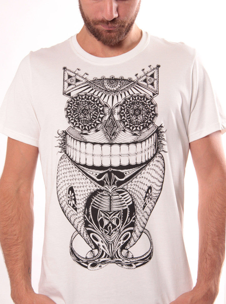 Steampunk Owl T Shirt