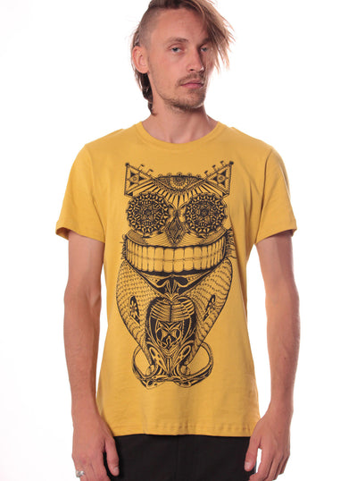 Steampunk Art Owl T Shirt