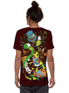 Alice in Wonderland Psy T-shirt