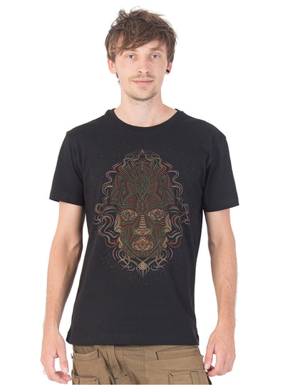 Trimurti Psy Mask Totem Tee