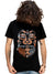 Aztec Warrior Mask Story Art T-shirt