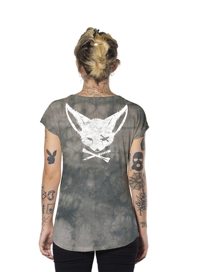 Tunic Top Cross Bone and Dagger Fox