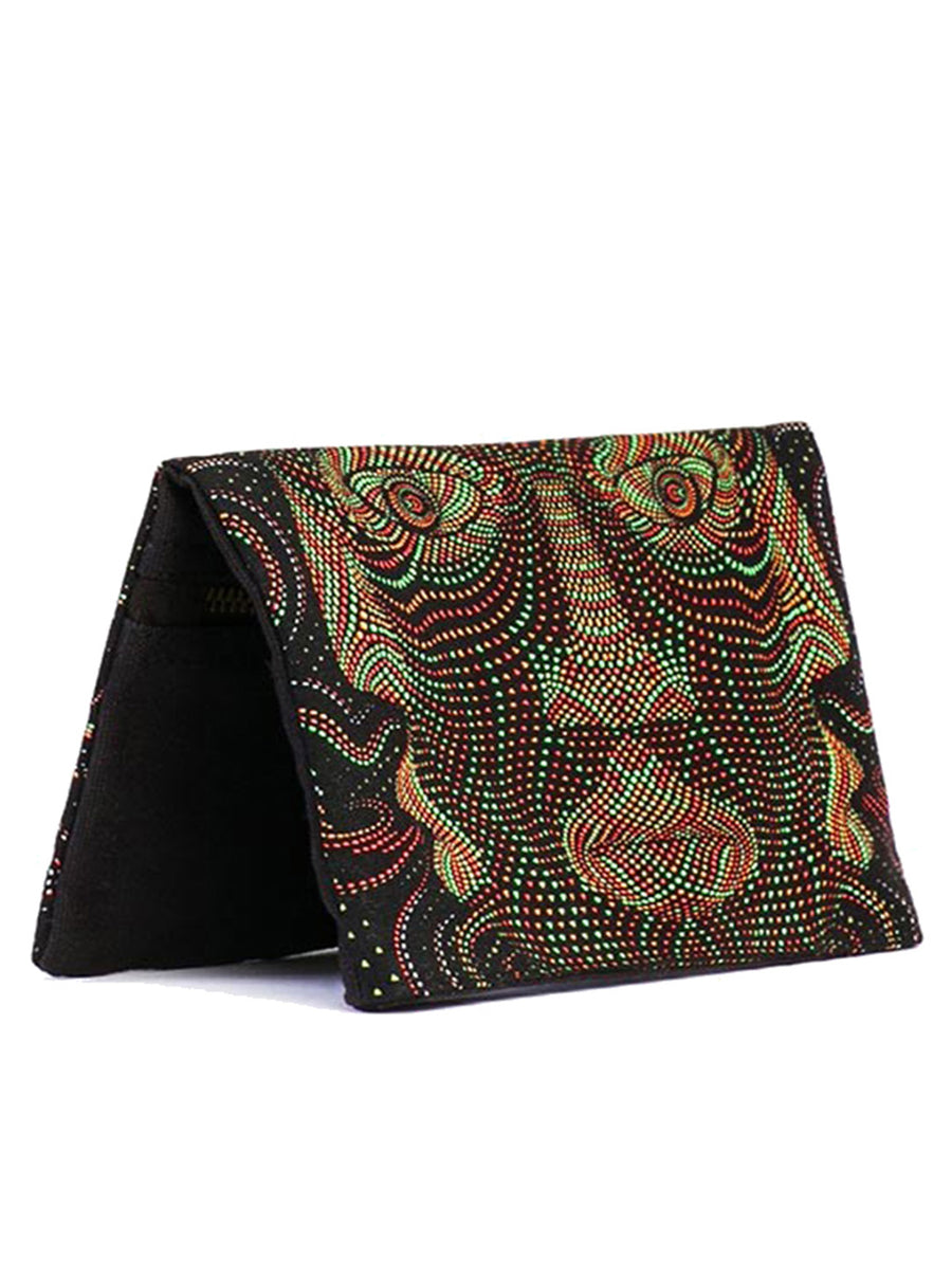 Totem Mask Psy Wallet Tobacco Case